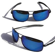 XS PRO Metal frame Polarized sunglasses /w Blue Mirror Lens fishing golfing ski