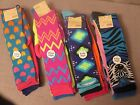 NO BOUNDARIES WOMEN/GIRL KNEE HIGH SOCKS 4 PAIRS SIZE 9-11 ASSORTED STYLES BNWT