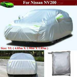 Full Car Cover Waterproof/Dustproof Full Car Cover for Nissan NV200 2010-2021