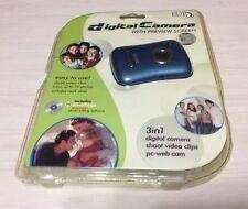 Sakar 98378 0.3 MP Digital Camera Blue Easy To Use 3in1, Free Shipping