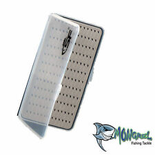 NEW FLY BOX SUPER SLIM HOLDS 156 FLIES - FLY FISHING TACKLE BOX
