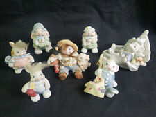 Lot of 7 Dreamsicles Cast Art Animal Figurines Signed