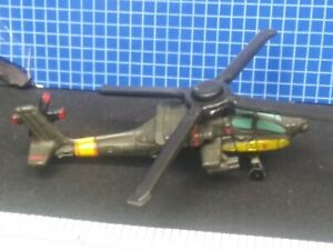 RED STAR MILITARY MICRO MACHINES AH-64D AH64D APACHE LONGBOW HELICOPTER GREEN