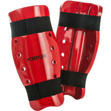 Century Kid's Martial Arts Student Sparring Shin Guards - Red - karate taekwondo