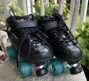 Sure Grip ROCK GT-50 Indoor/Outdoor Quad Roller Skates Men's 6/ Women's 8