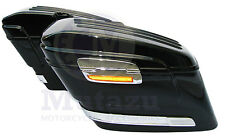 HL Universal Motorcycle Hard Saddlebags for Road Star VTX C90 Vulcan