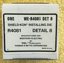 We R4081 Detail 8 Thomas Amp Betts Shield Kon Installing Die Set New