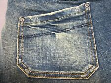 DIESEL KEATE 71L WOMENS SLIM STRAIGHT LEG DISTRESSED JEANS SIZE 30x32 NEW RARE