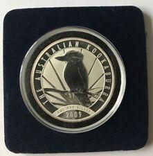 2009 1 Oz Australian Silver Kookaburra Coin Brilliant Uncirculated