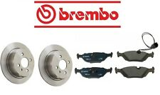 NEW BMW E30 318i 1991-1992 Rear Brake KIT With Rotors And Pads Best Quality