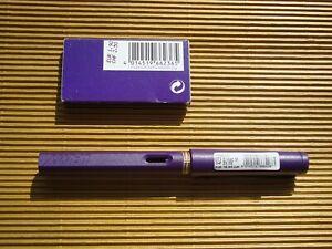 Lamy Füllhalter Safari 073 DARK LILAC M-Feder, NEU + 5xT10 dark lilac - Ltd.Edit