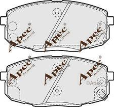 FRONT BRAKE PADS FOR HYUNDAI I30 CW GENUINE APEC PAD1555