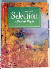 SÉLECTION DU READER'S DIGEST DE OCTOBRE 1963