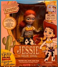 """TOY STORY SIGNATURE COLLECTION JESSIE THE YODELING COWGIRL 14"""" TALKING DOLL NEW"""