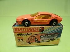 MATCHBOX 20 SUPERFAST LAMBORGHINI MARZAL - ORANGE - VERY GOOD IN BOX