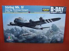 Italeri ® 1350 Stirling Mk. IV Glider Tug-paratroops transport d-Day 1:72