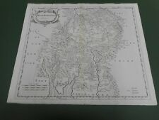 100% ORIGINAL LARGE WESTMORLAND MAP BY ROBERT MORDEN C1722 LOW POST