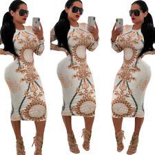 Robe body moulante imprimée manches longues sexy stretch blanc motifs géométrie