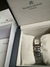 """Maurice Lacroix Miros """"Mother of Pearl"""" Ladies Watch 32823"""