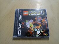 LEGO Rock Raiders (Sony, PlayStation 1) Complete Black Label   Tested