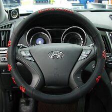 Gauss Premium Steering Wheel Cover - BLING BLING Bear Paw Pattern / 38 cm gift