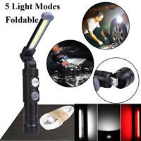 COB Arbeitsleuchte LED AKKU KFZ Taschenlampe Stablampe Werkstatt Lampe Magnet