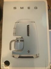Smeg 1950's Retro Style 10 Cup Programmable Coffee Maker Machine Black