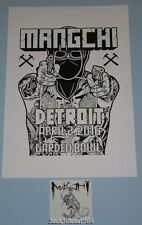 Mangchi Mike Giant Detroit Poster Print David Choe Sticker Art Punk