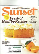 Sunset - January 2015 - Happy New Year!, Fresh Healthy Recipes, Dream Home.