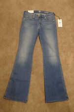 NWT 7 Seven For All Mankind A Pocket Flare Leg Blue Jeans in size 27 x 32