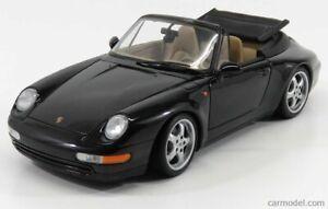 1:18 UT Models Porsche 911 993 Cabrio Black Cabriolet