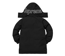 NEW AUTHENTIC NEW W/ TAGS SUPREME GORE TEX 700 FILL DOWN PARKA FW18 COAT S SMALL