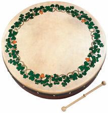 "Ireland St Patricks Day Irish Music 8"" Shamrock Waltons Bodhran Drum Beater"