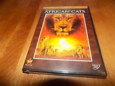 DISNEY NATURE AFRICAN CATS Walt Disney's Wildlife Classic DVD + BLU-RAY SET NEW