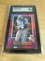 1997 SKYBOX E-X2000 Barry Sanders SGC 9