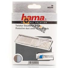 Escritorio de teclado cubierta de polvo Ajuste Universal Transparente Protectora por Hama