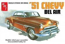 1:25 AMT '51 Chevy Bel Air *STOCK OR DRAG* Plastic Model Kit *NEW SEALED*