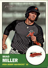 2012 Topps Heritage Minor League #72 Brad Miller NM-MT