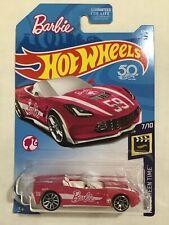 Barbie 2014 CORVETTE STINGRAY Convertible 1:64 Hot Wheels Die-Cast 2017 Mattel