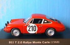 PORSCHE 911 T 2.0 #210 RALLYE MONTE CARLO 68 MINICHAMPS 1/43 ELFORD STONE