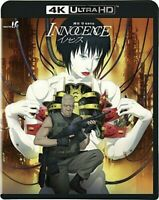 Innocence 4K Ultra HD + Blu-ray sequel of GHOST IN THE SHELL Japan Sub English