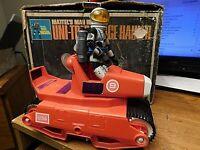 "MAJOR MATT MASON UNI-TRED SPACE HAULER 1968.""WORKS""WITH FIGURE & BOX """