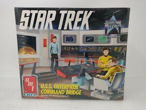 AMT Star Trek #6007 U.S.S. Enterprise Command Bridge Free Shipping