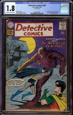 Detective Comics # 298 CGC 1.8 CRM/OW (DC, 1961) 1st SA appearance Clayface