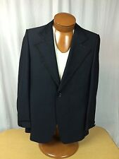 * Trojan Clothes Of Hollywood * Vtg. Retro Coat Blazer Jacket w/ Fringe STUNNING