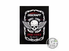 Discraft ACE RACE SKULL Disc Golf Die Cut Sticker - BLACK