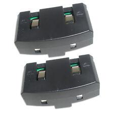 2x HQRP Ni-Mh Battery Replacement for Sennheiser BA150 BA151 A200 RS60 Set 50 TV