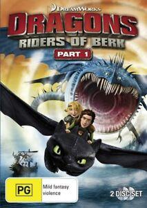 Dragons Riders of Berk Part 1 DVD Region 4 NEW+SEALED