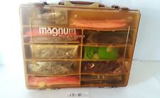 Plano Magnum 1152 Tackle Box Stuffed Full of Lures, Hooks, Worms, Craw