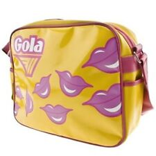 Bag GOLA REDFORD LUXEY LIPS Yellow Pink TUB005YKO Metallic Handbag by TADO